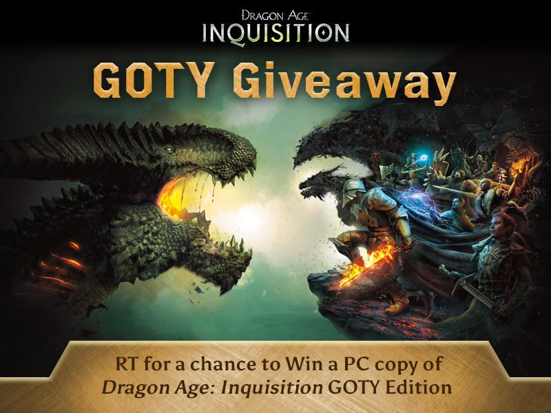 To celebrate the #DAI Game of the Year Edition, we're giving away some codes. RT for a chance to win a PC copy! http://t.co/NYhy6L60iM
