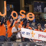 #Astros fans bringing #HustleTown to the Bronx for the #WildCard game! #Represent #HTownPride http://t.co/BA8mJ4e841
