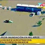 """Llueve en Argentina lo de 3 meses en una noche es """"Falta de Obras"""" En EEUU o Francia es """"La peor lluvia en mil años"""" http://t.co/caHZYDj1qU"""