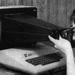 Taking a screenshot in 1983. http://t.co/f6rFsuoD6f
