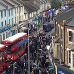 Roads closed in Walthamstow and two arrests made after a number of fights break out: http://t.co/OddTU3xurs http://t.co/9Z7nnewUU6