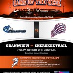 Football: Friday is Denver Broncos Game of the Week @ Legacy Stadium. Arrive early for festivities, gates open @ 6pm. http://t.co/raUv1RzyY5