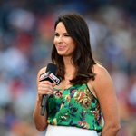 MLB playoffs begin tonight & @jessmendoza will be the 1st woman to ever call a playoff game. http://t.co/93wEF5SHbq http://t.co/5J46awjgYn