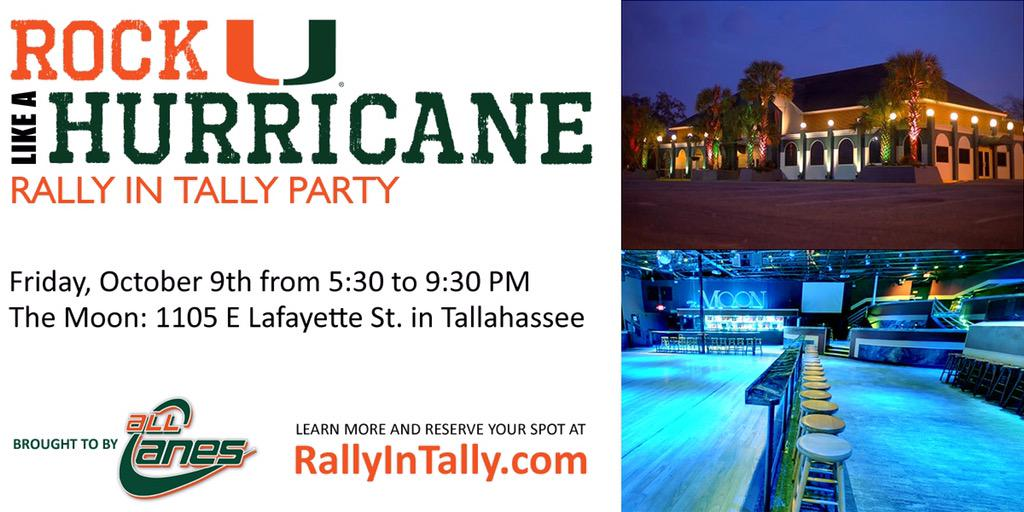 LISTEN UP, TALLY! This Friday hit up for an bash. If ur a Nole hit it up and