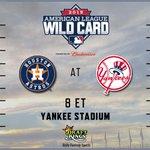 .@Astros. @Yankees. The 2015 #postseason begins TONIGHT on @espn. http://t.co/VPmSDoO89a #DKLineup http://t.co/i1KCWXF3tB