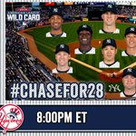 It's #TanakaTime as the #Yankees look to walk away with AL #WildCard victory: http://t.co/ihy5o7hK6A #Chasefor28 http://t.co/XhigDOFulW