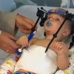 A miracle: Toddlers head reattached after internal decapitation in accident http://t.co/41GcZ4mIBE Pic: YouTube http://t.co/k2vgClZSyK