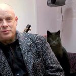 Brian Eno: I am my own worst critic. Cat: Not while Im alive. http://t.co/OZWXGdUu25