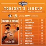 #Astros, @kidkeuchy face Yankees in AL #WildCard at 7:08 CT on @ESPN, @SportsTalk790: http://t.co/dTzgwLT3DT http://t.co/wt1qgJPjGt