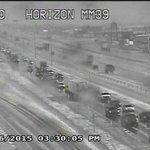 331pm: Hail covering I-10 near Horizon. #ElPaso. Photo courtesy TxDOT. http://t.co/BFJVuF4pi2