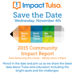 Save the Date! In one month, we'll release our latest findings from 15 school districts in the Tulsa area. Join us! http://t.co/N5BP6CxXX9
