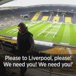 Two years ago, one Liverpool fan got down on his knees in front of Jurgen Klopp... Watch http://t.co/VOFNpdqEqo http://t.co/jMElwMAkWb