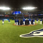 Workout time at @Rogers_Centre! #postseason #ComeTogether http://t.co/9iIvVnN6rb