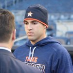 Connecticut native George Springer will make his first career start at Yankee Stadium tonight. #Astros http://t.co/oApaoGzDMq