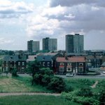 View across Worsley Mesnes from Poolstock Lane, #Wigan, early 1980s. (Photo: Cathy Bolton) http://t.co/yKlmCu6vao