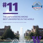 .@USNewsEducation ranks @UW No. 11 in the world & No. 3 among publics! 2016 #BestGlobalUni http://t.co/y4jP1ql94Z http://t.co/GoRuK26Bsq