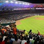 Continúa la fiesta en el nuevo estadio de Tomateros http://t.co/nsz1ZSkhhH