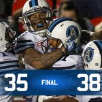 .@ChadOwens2s one-handed grab seals week 16 win for #Argos, pushing the Boatmen to 8-5: http://t.co/spOGjBVQ1k #CFL http://t.co/hGmUrXJYp5
