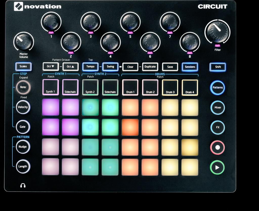 In Novation we trust.  I'm by my mailbox with my @Alphasphere waiting for Circuit...Icanhaznow, @WeAreNovation? http://t.co/tCPC2aNUdE
