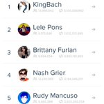 #2 on vine overall and #1 girl viner in the world???????????? http://t.co/AcFUsbdhMc