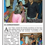 @actorvijay Visits Family Of His Deceased Fans - DC #Puli http://t.co/WBuqB9KO1S