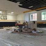 """Averetts """"Old Gym"""" being made new again. Re-opening soon as Carrington Gym-new home to intramurals! #Averettfamily http://t.co/PaezKdJPJR"""