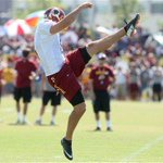 Former @UnionFootball punter Tress Way boots 63-yarder in Washington #Redskins win http://t.co/08EZg62DTV #okpreps http://t.co/wPzzLRMSGT