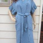 KNIT MAXI CARDIGAN, Denim Blue Plus size cardigan, Maxi … https://t.co/gJovuuqejR #boho, #crochet #PlusSizeCardigan http://t.co/eZbZbHxEtB