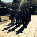 本日、二荒山神社にてNBLラストシーズンの開幕を控え、必勝祈願を行いました。 #brex #BeReady http://t.co/X7fBe9oM00