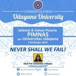 Selamat dan sukses peserta PIMNAS dari Universitas Udayana :) http://t.co/xQdKdalCrL