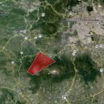 Volcanic Ash Advisory Center - NOAA: dispersión observada de ceniza (área en rojo). http://t.co/lH9rUZ4uV1