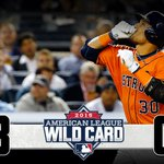 Wild @Astros season continues with convincing AL #WildCard win: http://t.co/JLTTOdle3u #OwnOctober http://t.co/V7NBgECrt0