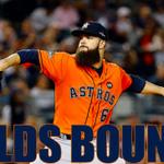 H-TOWN! The @astros advance to the ALDS! FINAL: the Astros defeat the Yankees 3-0 in the #WildCard game! #postseason http://t.co/H7P60QXVzI