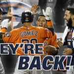 2 years ago, the Astros lost 111 games. Now, theyre in the ALDS. Astros blank Yankees, 3-0. http://t.co/6UxtAD5Ke6