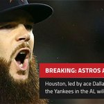 Its a wrap. The Astros defeat the Yankees 3-0 in the AL wild-card game. http://t.co/ooZLHgzCx1
