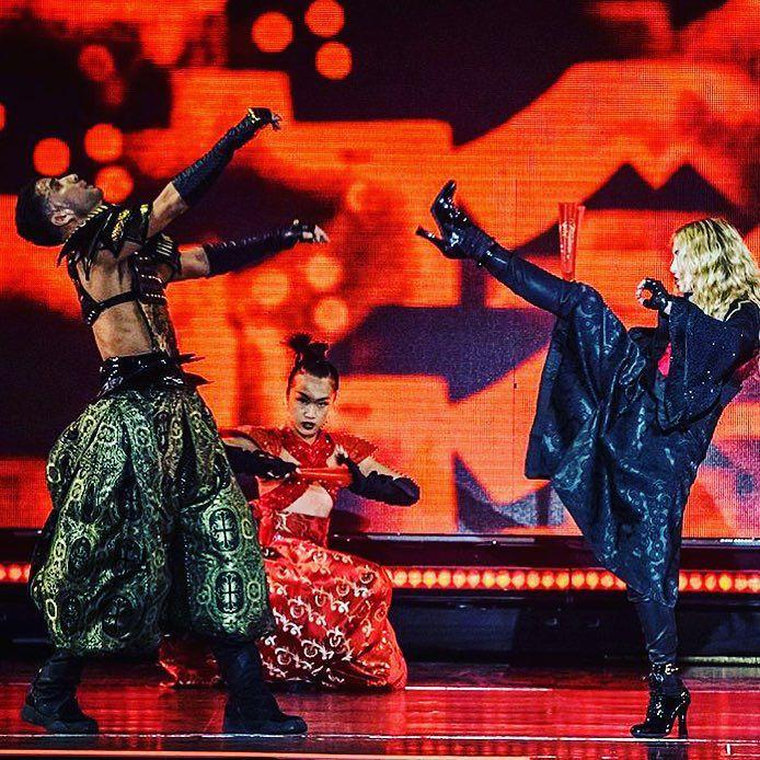 Thank you Toronto for an Amazing 2nd night! ‼️‼️‼️ #bitchimmadonna ❤️ #rebelheartour http://t.co/YH0wcHTDPE