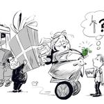 Erna snakker mye om #grøntskifte, men det finner dessverre ikke veien til #statsbudsjettet http://t.co/LgUmj7Vgo0