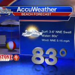 Nice on the sand but rough surf & rips continue in the water. Ive got your forecast coming up #Fox35 #GDO http://t.co/xwxpWkehyb