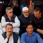 Omar Abdullah led National Conference protests outside J&K assembly against suspension of 4 NC MLAs http://t.co/M4BLwTe1Vn