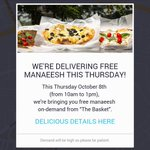 Tomorrow order manaeesh from @Uber_Amman app & SHARE YOUR #UberMANAEESH PICS FOR A CHANCE TO WIN JD100! http://t.co/fOZ3JnjzFB