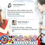 YUNG FEELING NA MISS NA MISS NYU NA ANG ISAT ISA! @mainedcm @aldenrichards02 #aldenrichards02 http://t.co/jn2dqFdW4Y