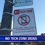 Those #NoTech signs in #SF apparently the work of an artist named #IvanCash. http://t.co/bOepEUhuiv