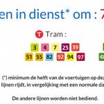 Betoging: Voorlopig vooral hinder bij busvervoer, metro en belangrijkste tramlijnen bediend http://t.co/pEpZxRyghK http://t.co/VStj5kqQQM