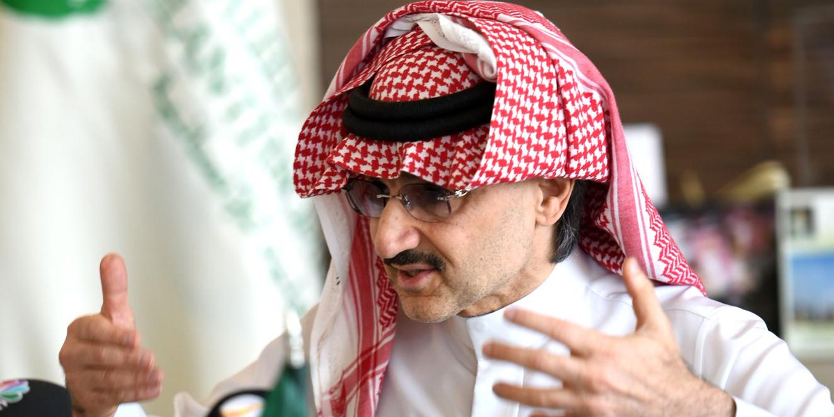 Saudi Arabian billionaire and his investment company now own more than 5% of Twitter