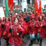 Manifestaton nationale : des milliers de manifestants débarquent à #Bruxelles #manif7oct http://t.co/FtYv5s6CqS http://t.co/OxAgGVaKCQ