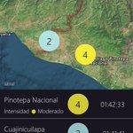 Mapa del sismo detectado cercano a Pinotepa, Oaxaca. Intensidad 4 (moderado). http://t.co/QXjiTbuMeC