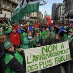 Manifestaton nationale 70.000 personnes attendues dans les rues de #Bruxelles #manif7oct http://t.co/apQLL4ReuX http://t.co/dnsm6plcXK