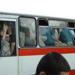 Kayseri de talas otobüsü. (temsili değil) http://t.co/o8lSVUs5N6
