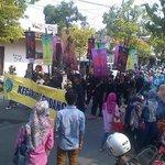 Rombongan dari Kec Sindang @kotaindramayu #imy488 http://t.co/QoWGmOaRhu