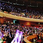 151007 Yixing Birthday Fanmeeting - Purple Ocean♥♥♥ #HappyLayDay cr.owner http://t.co/VVjKbclCLS